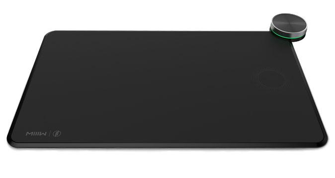 Умный коврик для мыши Xiaomi Mouse Pad c беспроводной зарядкой