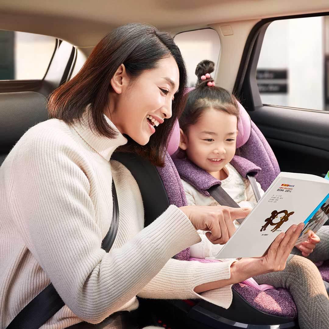 Автомобильное детское кресло Xiaomi QBORN Child Safety Seat
