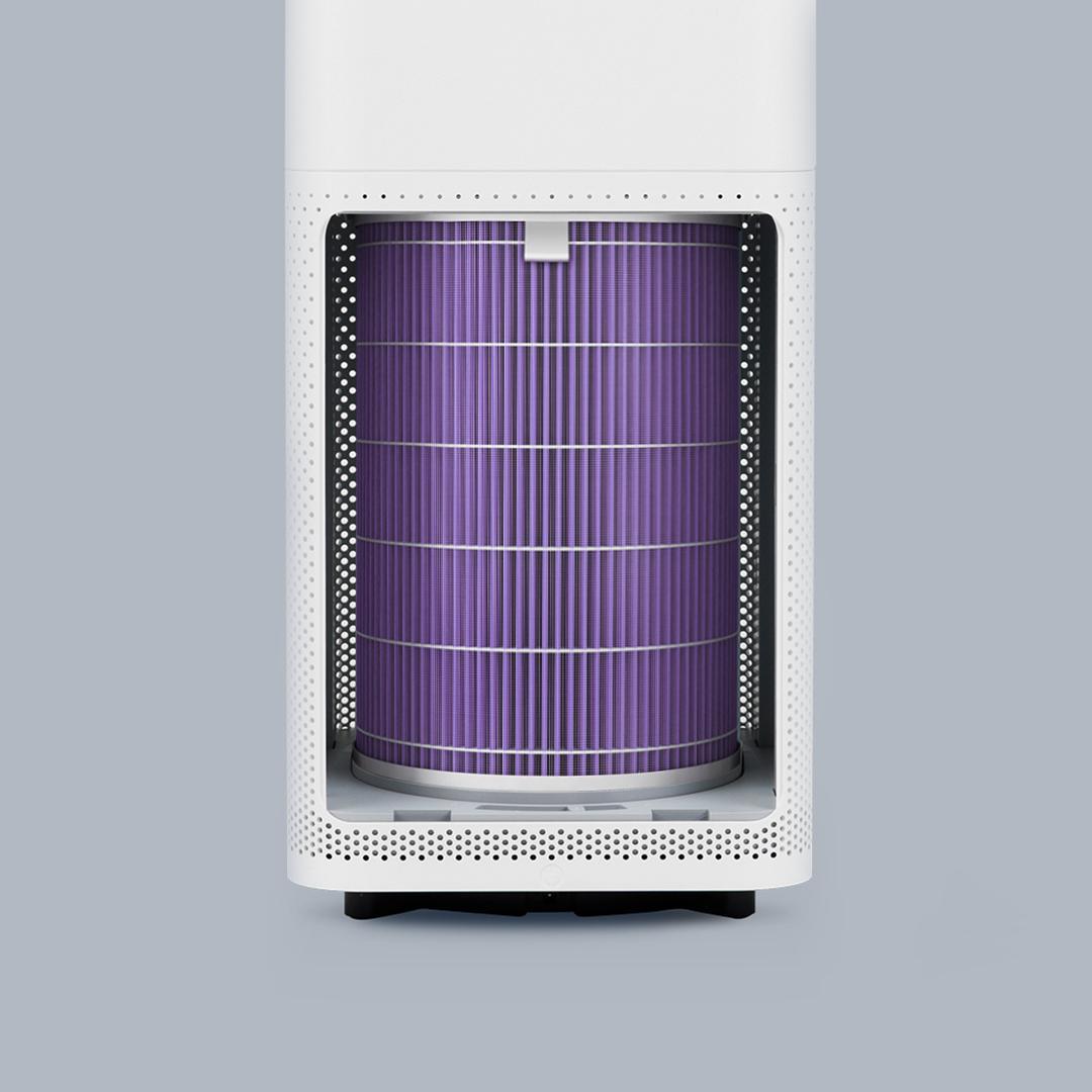 Антибактериальный воздушный фильтр для очистителя воздуха Xiaomi Mi Air Purifier