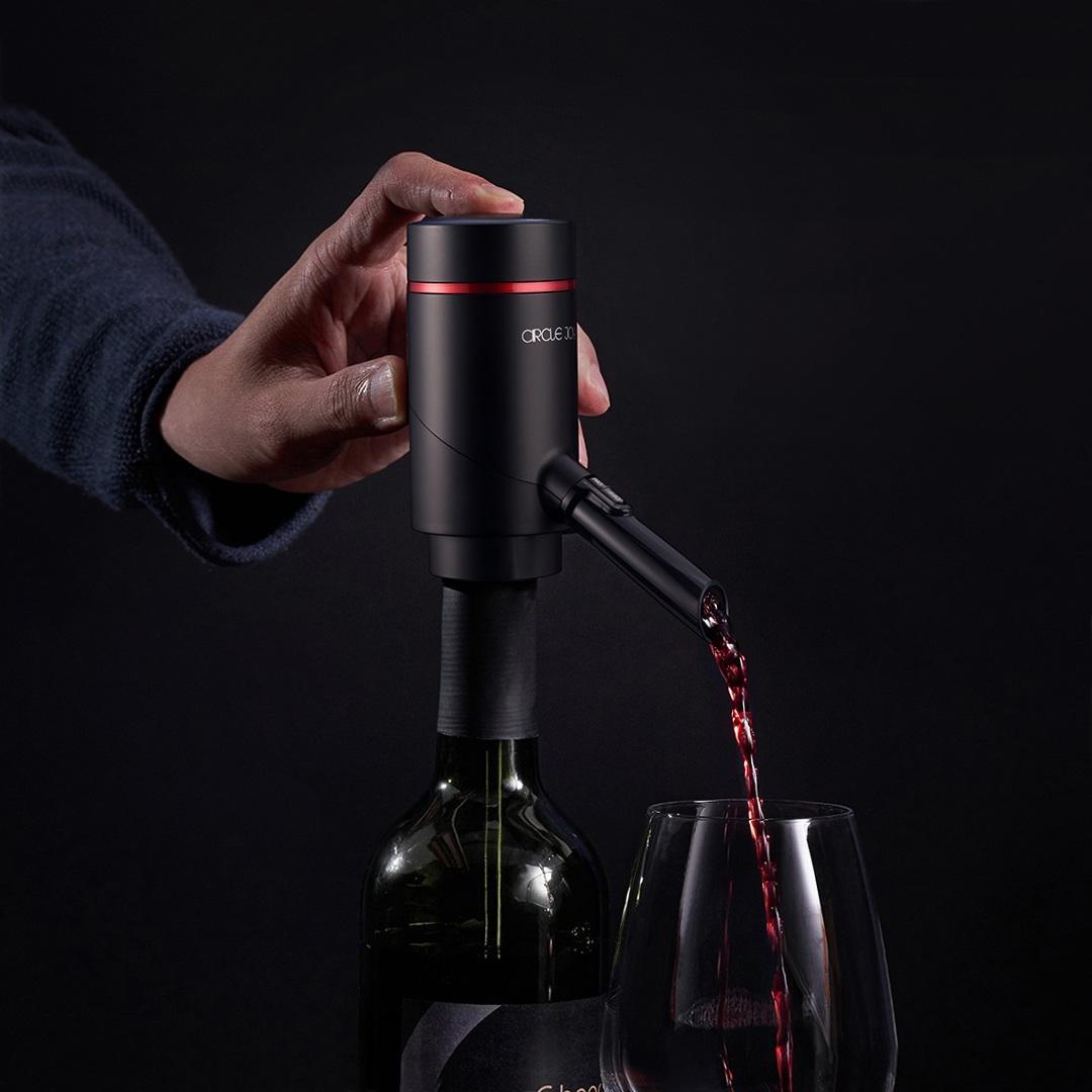 Диспенсер для вина Circle Joy Electric Wine Aerator Dispencer