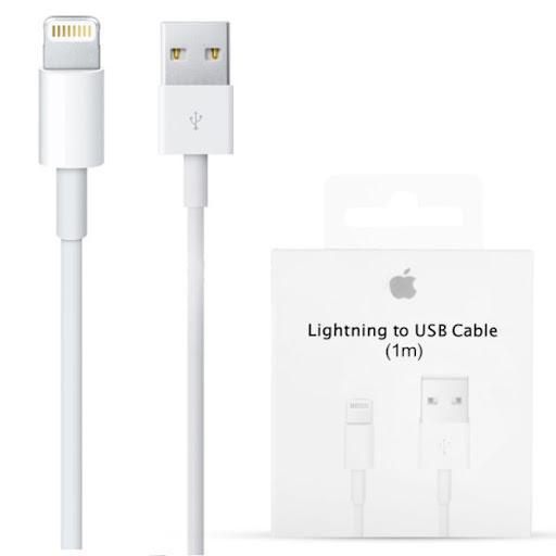 Кабель питания Iphone Lighting to USB 1M Оригинал