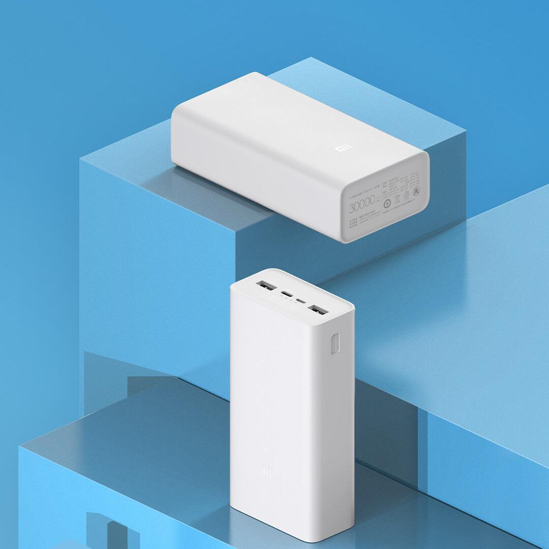 Внешний аккумулятор Xiaomi Power Bank 3 30000 mAh