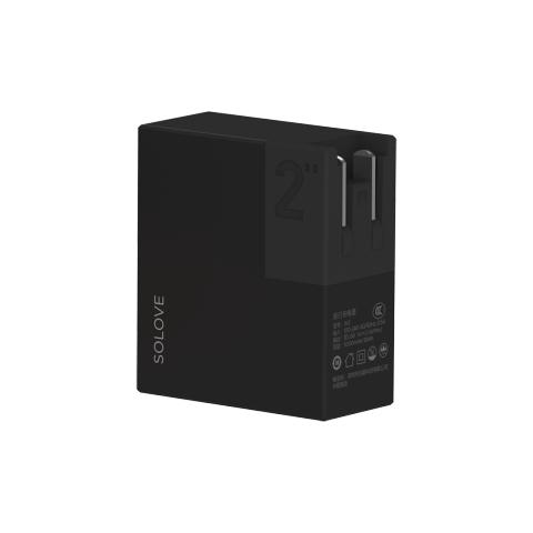 Внешний аккумулятор-зарядка Xiaomi SOLOVE W2 5000 mAh