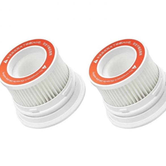 Фильтр Xiaomi сменный д/пылесоса Mi HEPA Filter for Handheld Vacuum Cleaner 1C (2pcs)