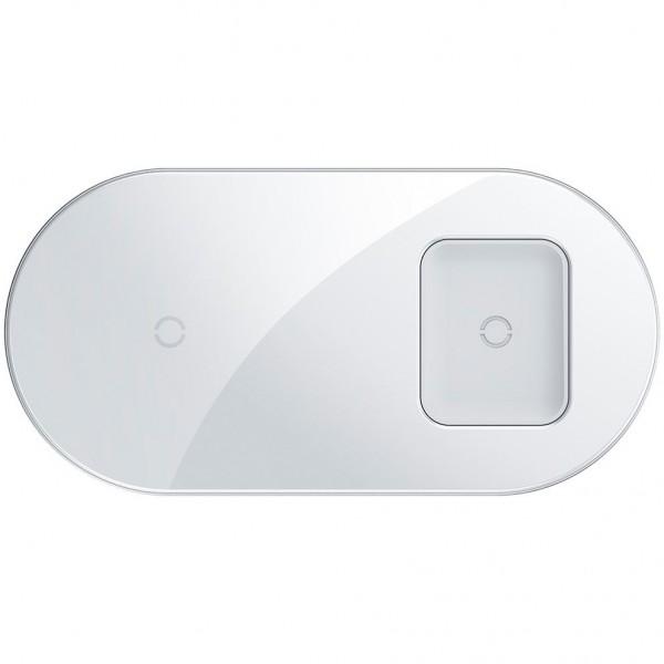 Беспроводное зарядное устройство Baseus Simple 2 in1 Wireless Charger WXJK